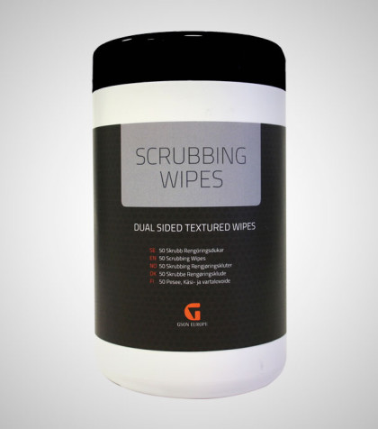 Scrubbing Wipes