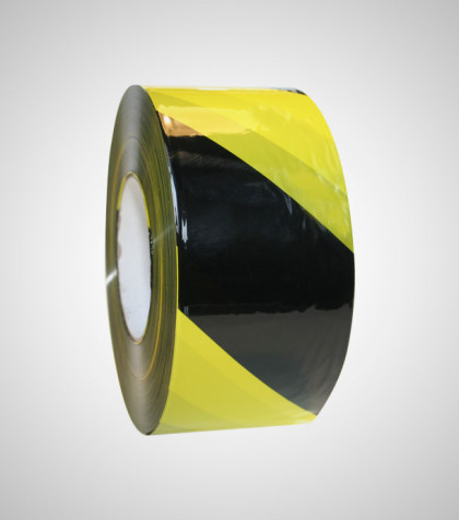 Safety Band Black/Yellow, T136
