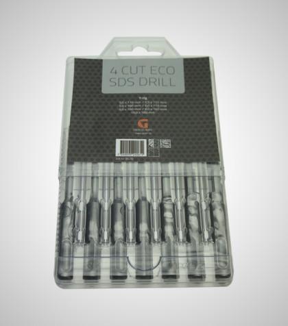 4Cut ECO SDS drill Set