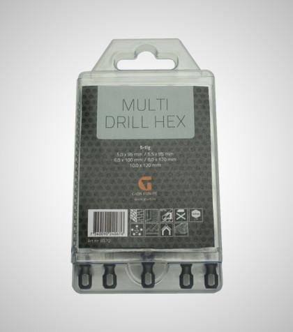 Multi Drill Hex Set, B570