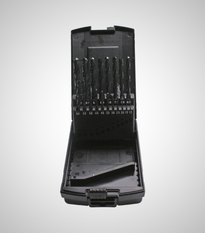 HSS-R Drill Set 1-10 mm (19 delar/parts)