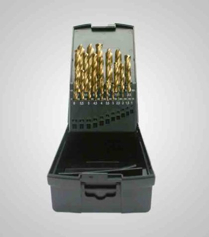 HSS-G TiN Drill Set 1-13 mm  (25 delar/parts)