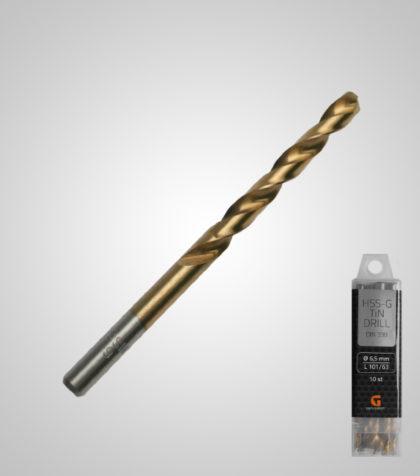 HSS-G TiN Drill