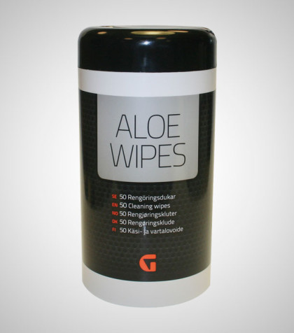 Aloe Wipes – 50 st