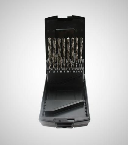 Left Drill Set 1-10 mm (19 delar/parts)