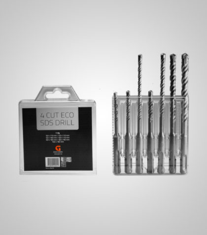 4Cut ECO SDS drill Set (7 delar/parts)
