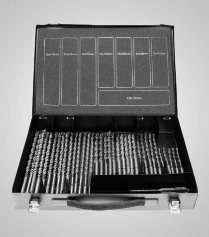 4Cut ECO SDS drill Set (40 delar/parts)
