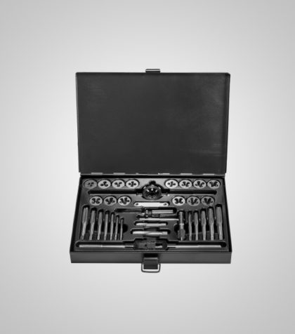 Tap & Die Set Alloy Steel M3-M12
