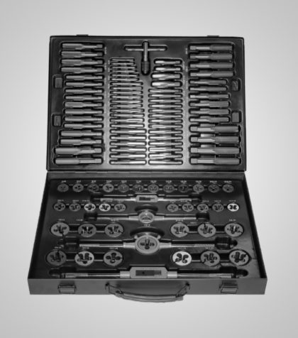 Tap & Die Set Alloy Steel, Metric & Inch