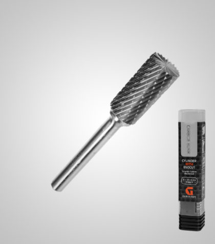 Carbide Burr Cylinder with Endcut