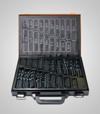 HSS-R Drill Set 1-10 mm (170 delar/parts)