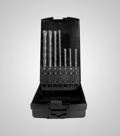 4Cut ECO SDS Drill Set in Rose box (7 delar/parts)