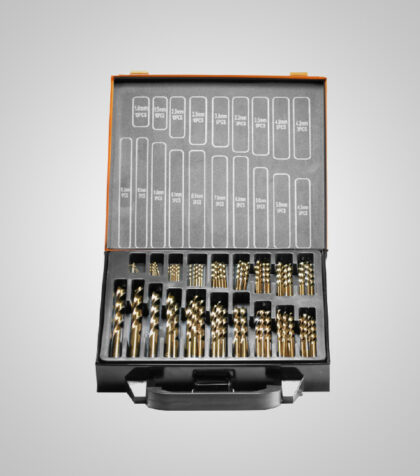 HSS-G Cobolt Drill Set 1-10.2 mm (70 delar/parts)