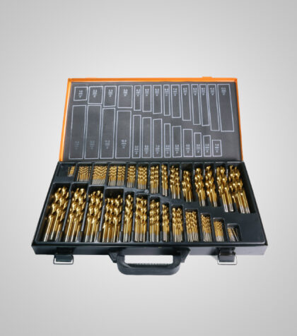 HSS-G TiN Drill Set 1-13 mm (220 st delar/parts)