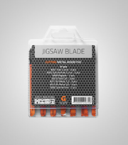Jigsaw Blade Set 21 pcs