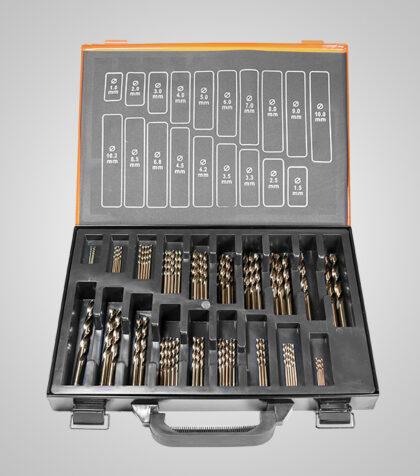 HSS-G Cobolt Drill Set 1-10.2 mm (70 delar/parts)